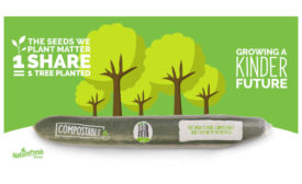 Compostable Sustainable Cucumber Wrap Nature Fresh Farms