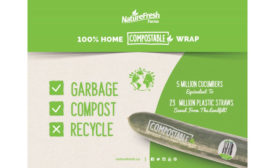 Compostable Sustainable Food Packaging Cucumbers Nature Fresh Farms