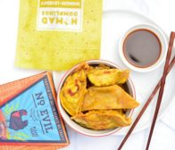 Nomad Dumplings No Evil Foods Plant-Based Shangri-La Honey