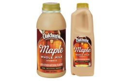 Seasonal Fall Flavors Maple Syrup Milk New England Oakhurst Dairy