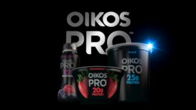 Super Bowl Commercial High Protein Oikos Yogurt