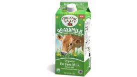 Fat Free Grass Fed Milk Organic Valley