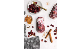Cinnamon Cranberry Holiday Cheese Chevre Roth