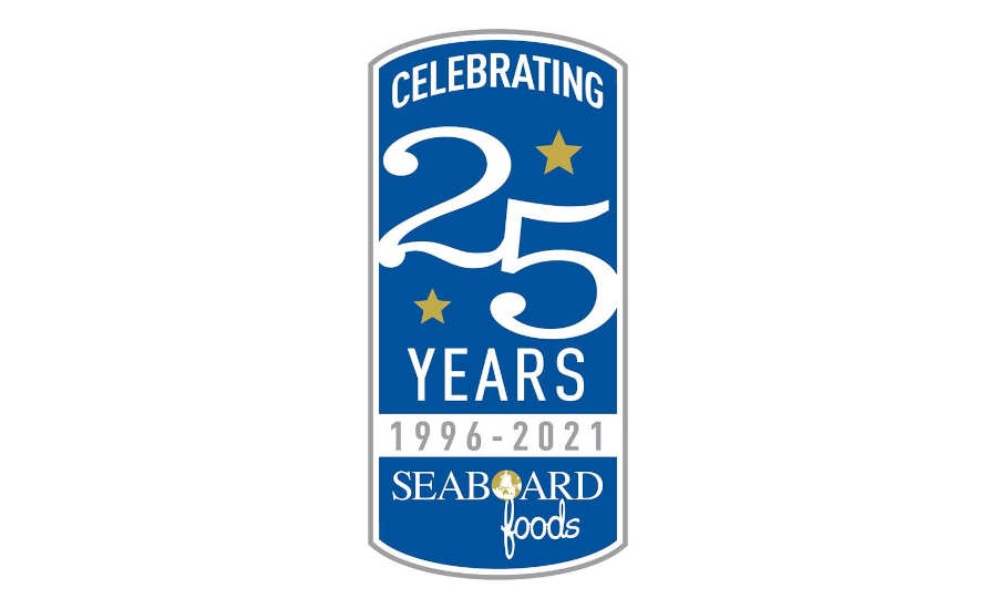Pork Processor Seaboard Foods 25th Anniversary Logo