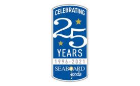 Pork Processor Seaboard Foods 25th Anniversary Logo