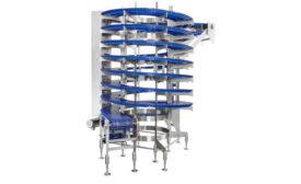 Spiral Freezer Pack Expo Vegas SideDrive Conveyor