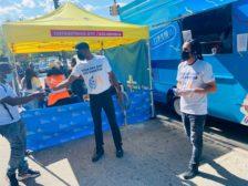Bronx New York Cruger Avenue Free Ice Cream Unilever Handouts Vaccine