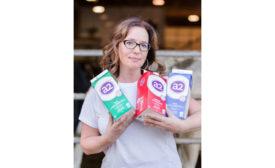 Danielle Pearson Hands Full a2 Milk Canada