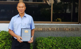 Bangkok Thailand APAC Merwin Award 2020 Eriez Sales
