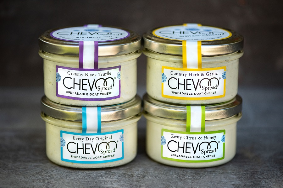 CHEVOO Spreadable Goat Cheese 1