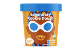 Plant Based Dairy Free Frozen Dessert Coconut Bliss Cookie Dough Redesign