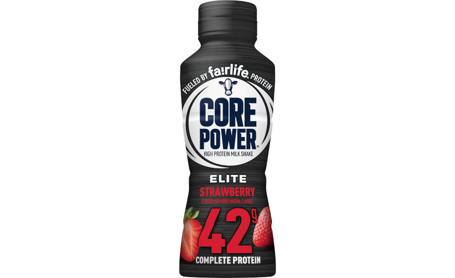 High Protein Shakes Strawberry Core Power Milk