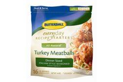 Butterball frozen meatballs