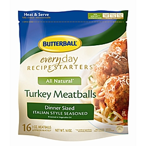 Butterball frozen meatballs