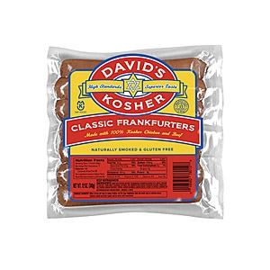 Davids Kosher franks