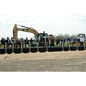 Mitsubishi Caterpillar breaking ground
