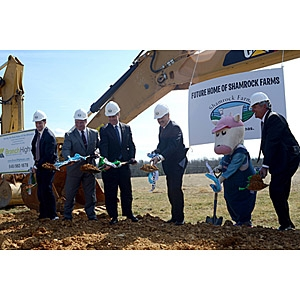 Shamrock Farms groundbreaking