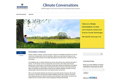 Emerson Climate blog