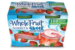 J&J Snack Foods Greek frozen yogurt