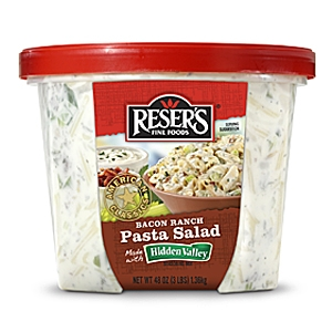 Resers bacon pasta salad