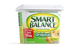 Smart Balance butter tub