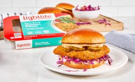 Plant-Based Fried Chicken Sandwich Lightlife