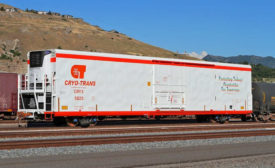 Cold Storage Railcar Lineage Logistics