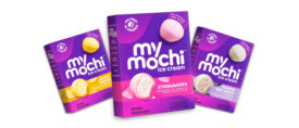 Mochi Ice Cream Rebranding My/Mochi Packaging