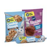 Pillsbury Safe to Eat Raw Cookie Dough Brownie Dough