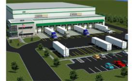 Cold Storage Warehouse Construction Sturbridge Massachusetts RLS Logistics