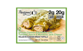 Chicken Enchilada Low Carb High Protein Frozen Real Good Foods