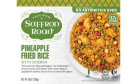 Pineapple Fried Rice Saffron Road Frozen Meal