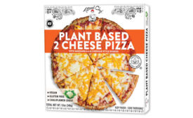 Plant Based Two Cheese Frozen Pizza Tattooed Chef
