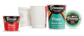 Recyclable Packaging Cardboard Plastic Yogurt Bulgarian Trimona