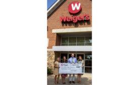 Street Hope TN Donation Weigel's $10,000