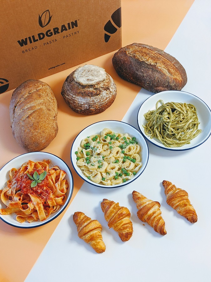 Wildgrain Subscription Bread Pasta Pastry Box