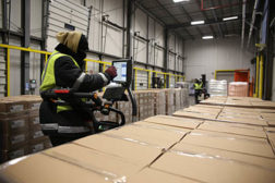 Hutt logistics center