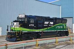 Norfolk Southern new locomotives