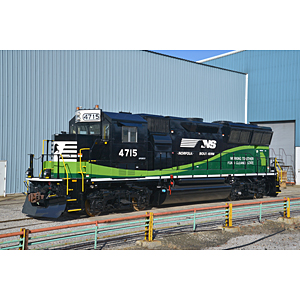 Norfolk Southern new locomotives