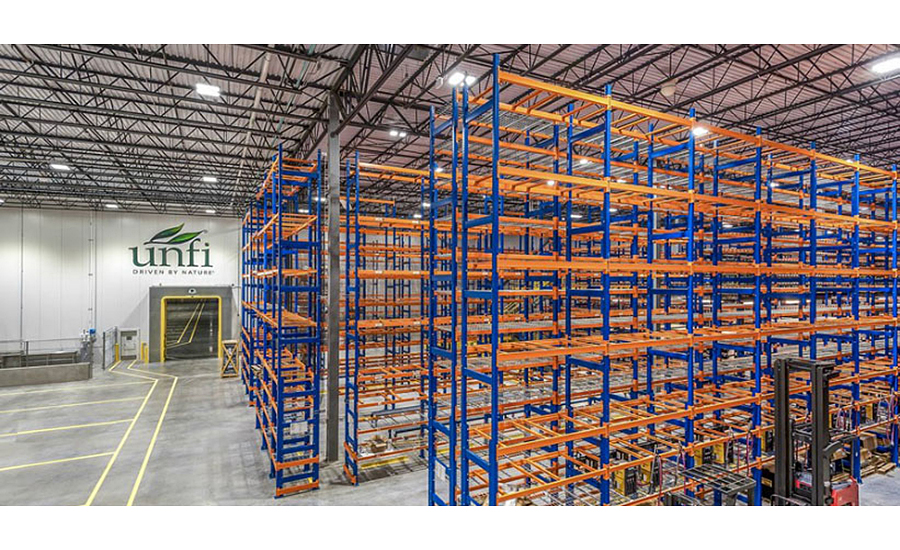 Unfi Selects Hannibal Industries Racking Systems For New