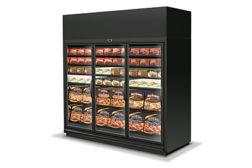 Hussmann reach-in freezer