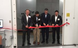 Danfoss ribbon cutting