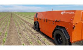 FarmWise autonomous vegetable weeder
