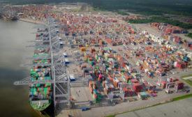 Georgia Ports Authority Aerial