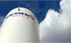 Messer Gases Storage Tank