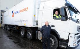 Partner Logistics refrigerated trailer