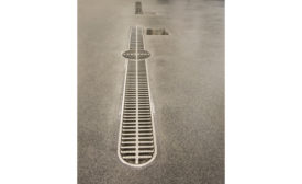 Stonhard drain system