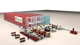 Takeoff automated micro fulfillment centers
