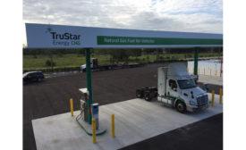 TruStar CNG fuel station