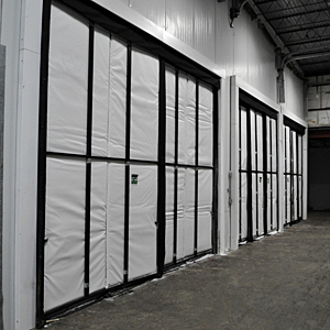Zoneworks blast freezer wall